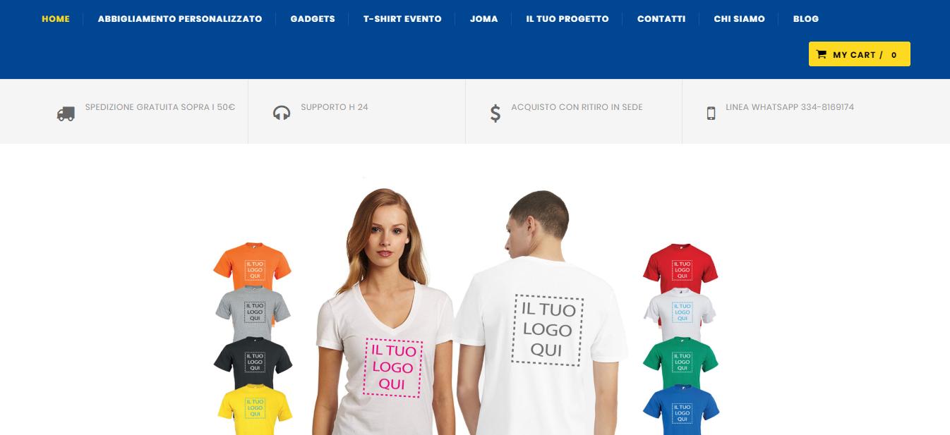 Nuovo sito ecommerce Sprint Design